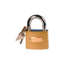 imitation brass iron padlock