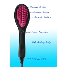 The Brush Which Can Straighten Hair