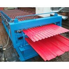 Máquina formadora de rolos de telha dupla camada de preço mais baixo
