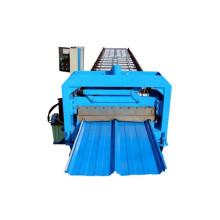 Máquina formadora de rollos de láminas para techos galvanizados arqueados