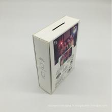 Boîtes de carton d'impression en carton ondulé résistant