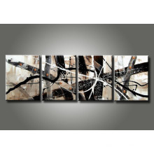Large Modern Abstract Oil Painting Art on Canvas
