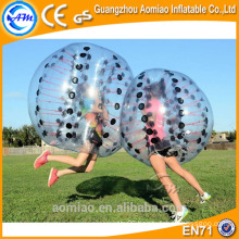 Laster craze outdoor human bumper ball,bubble soccer suits for sale