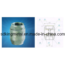 Stainless Steel CF8 2PC-Spring Vertical Check Valves