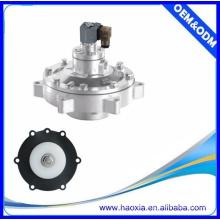 Alloy Material Válvula de pulso de controle de ar de duas vias AC110V