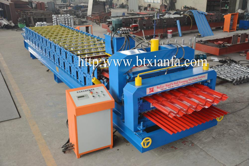 Corrugated Roofing Machine