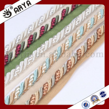 delicate and Decorative Rope for sofa decoration or home decoration accessory,decorative cord,6mm