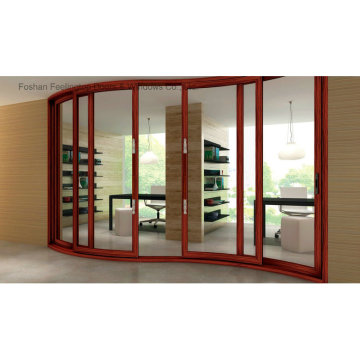 Deluxe Aluminium Curved Sliding Door (FT-D143)