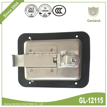 Caixas de ferramentas 304 SS Flush Paddle Handle Latch