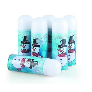 Natal Snowman Happy Foam Snow Spray