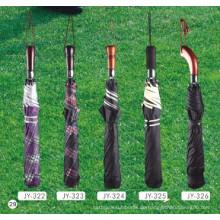 Auto Open 2-Falten Golf-Regenschirm (JY-11)