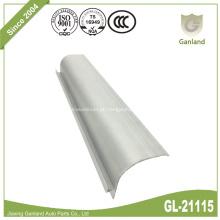Envoltório de telhado de extrusão de alumínio com raio de 32 mm