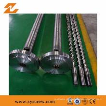 Parafuso e cilindro para máquina de moldagem de filme soprado LLDPE