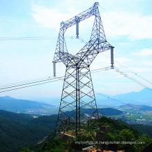 Torre galvanizada com ângulo de coruja de 220 kV