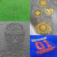 Hot selling T-shirt design embossing machine