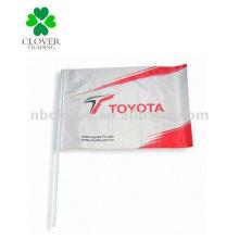 2012 bandeiras de janela de carro de publicidade ao ar livre / bandeira de carro / banner de carro