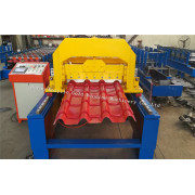 High Speed Bamboo Glazed Roof Tile Forming Machine
