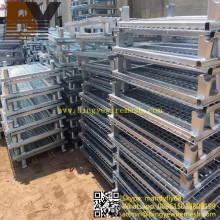 Maschendraht-Behälter-Rollen-Behälter-Aufbewahrungsbehälter
