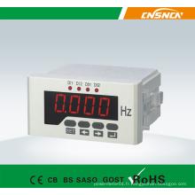 Compteur de fréquence à LED monophasé à 48 * 96 mm