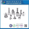 Taiwan Stainless Steel Shoulder Rivet 2mm Rivets Tubular Rivets For Leather