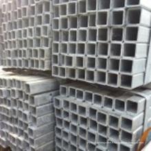 Tuyau en acier galvanisé soudé par carré de bon-carbone