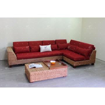 Best selling Natural wicker living set for Living home Indoor furniture