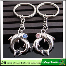 Popular Metal Cute Animal Key Chain for Lovers