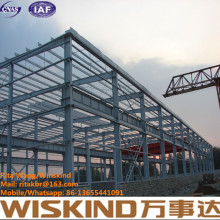 Steel Structure Building Construction Factory/Warehouse/Worshop by Wiskind