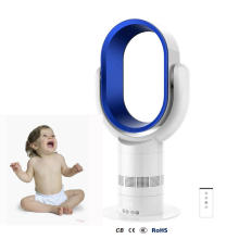 New Arrival 10 Inch Bladeless Desk Fan Bladeless Tower Fan Bladeless Portable FanFan with Remote