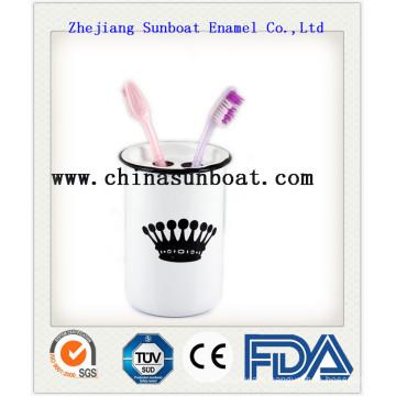 Enamel Toothbrash Cup