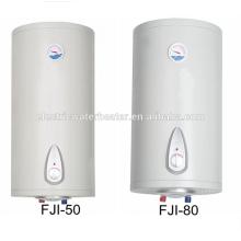 Caldeira de água doméstica elétrica de 80 litros com termômetro