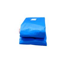 Reuseable fire retardant with UV protection plastic tarpaulin sheet