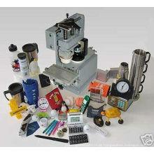 Copo selado 1 cor manual pad impressora e mini exposição máquina
