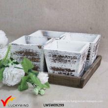 Оптовый античный декоративный садовый плантатор Box