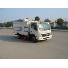 4CBM Dongfeng Compact Garbage Collection Road Sweeper Truck