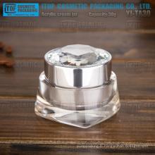 YJ-TA30 30g intéressant nouvelle arrivée cristal clair brillant acrylique pot 30ml