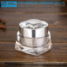 YJ-TA30 30g interesting new arrival crystal clear high gloss acrylic jar 30ml
