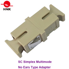 Sc Simplex Multimode No Ears Type Fiber Optic Adapter