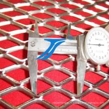 Grille métallique augmentée de certificat d'OIN