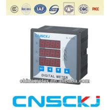 SCD914Z-2X4-3I 120*120 digital three phase ammeter