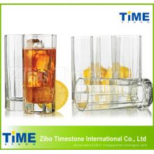 285ml (10oz) Tall Coupe de jus de thé en verre Highball