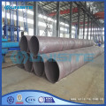 Saw welding straight round pipes