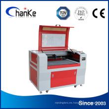 Máquina de grabado de corte láser de CO2 de vidrio acrílico de plástico de madera de papel