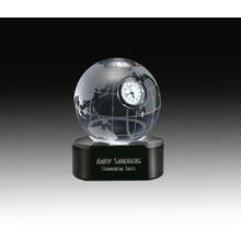 Customized Crystal Desk Clock