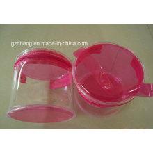 Weiche Plastik-PVC-Beutel (Zylinderverpackung)