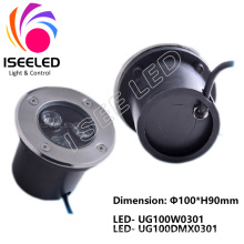 Lumière de jardin souterrain à LED
