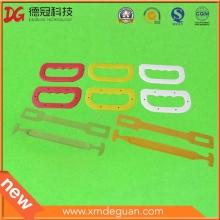 Пользовательские различные фрукты картонная сумка риса портативная пластиковая ручка
