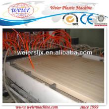 PE деревянная и пластичная составная производственная линия доски