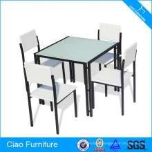Elegant Cheap KD Space Saving Rattan Dining Furniture