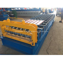 Rolo galvanizado hidráulico da telhadura que forma a máquina